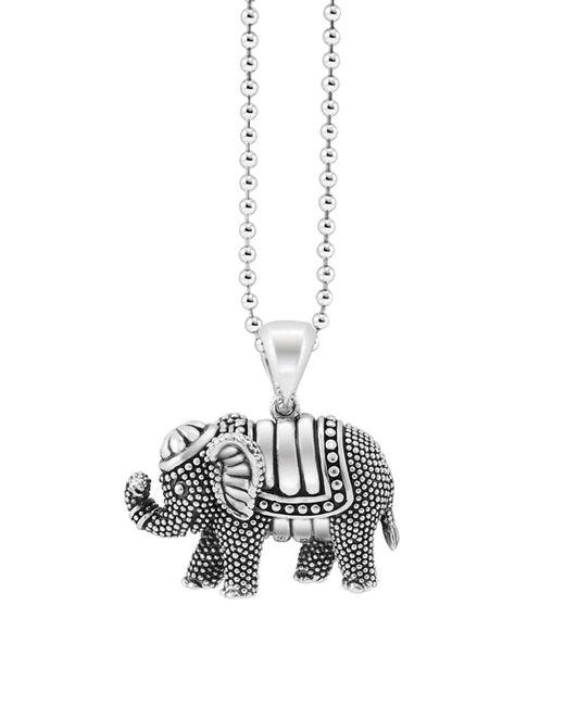 "Lagos | Metallic Rare Wonders Elephant Pendant Necklace, 34"" | Lyst"