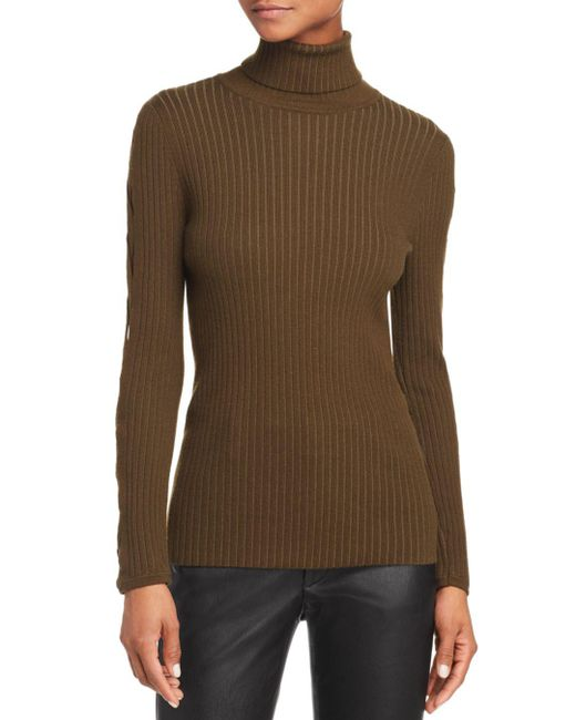 Ramy Brook - Green Kimila Cutout Turtleneck - Lyst