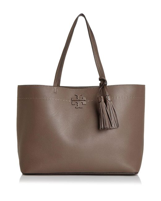 Tory Burch - Multicolor Mcgraw Medium Leather Tote - Lyst