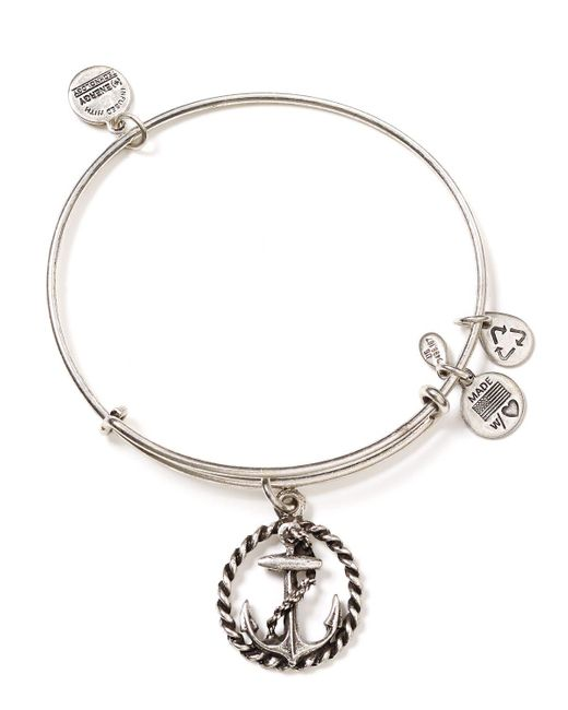 ALEX AND ANI | Metallic Nautical Bangle | Lyst