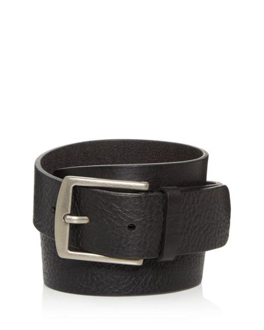 Frye Black Men's Weston Leather Belt for men