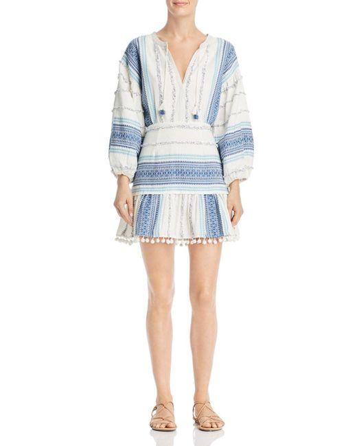 Saylor Blue Veronique Woven Mini Dress