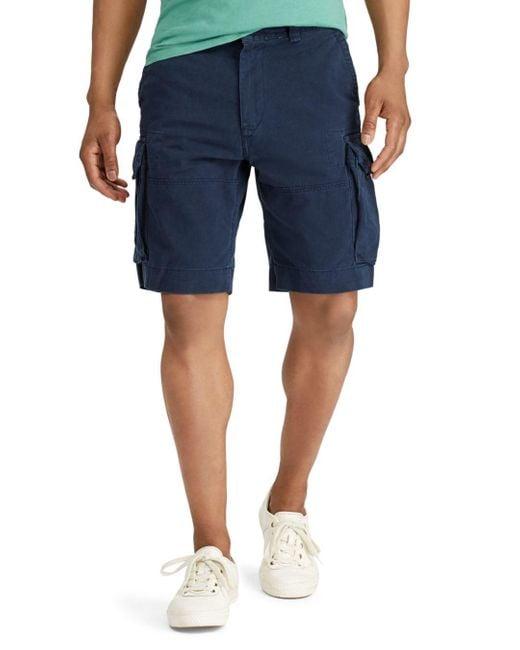 Polo Ralph Lauren Blue Classic Fit Gellar Cargo Shorts for men