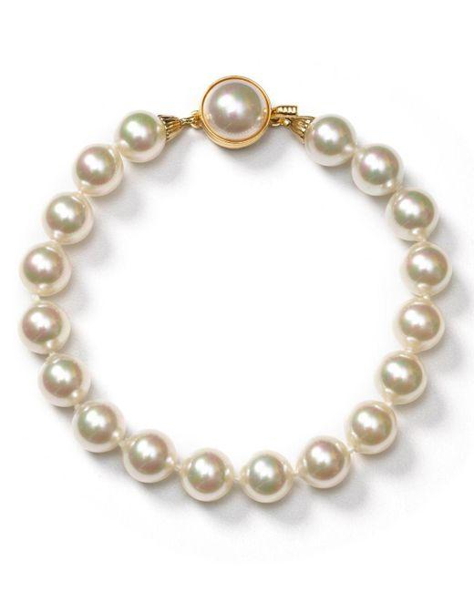 Majorica White Simulated Pearl Bracelet
