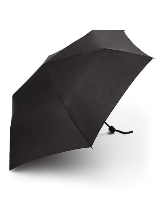 Bloomingdale's Black Twiggy Umbrella