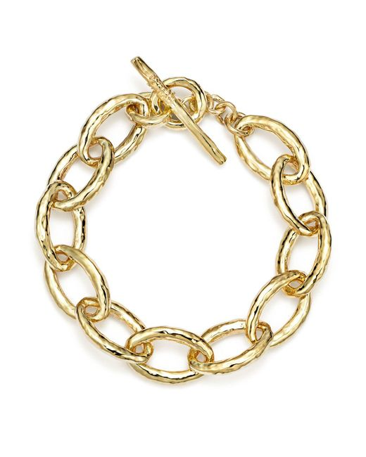 Ippolita | Metallic 18k Gold Glamazon Mini Bastille Link Bracelet | Lyst