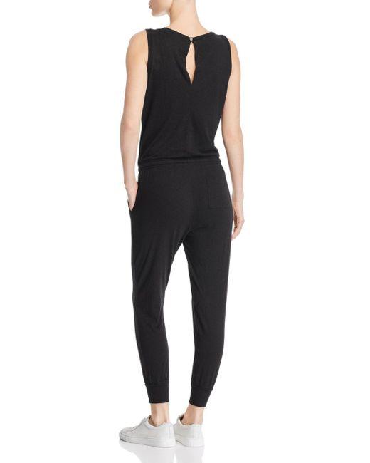 3f9d3a08d693 ... n PHILANTHROPY - Black N Philanthropy Sleeveless Knit Jumpsuit - Lyst