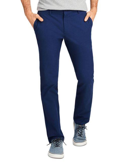 Vineyard Vines Blue Performance Slim Pants for men