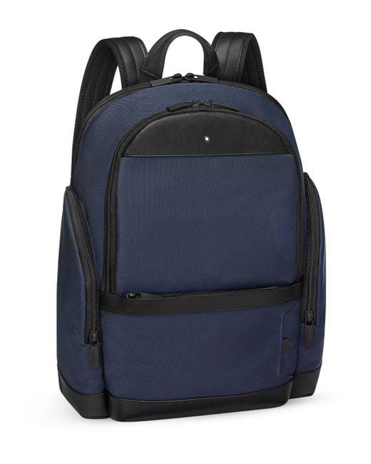 Montblanc Blue My Night Flight Backpack for men
