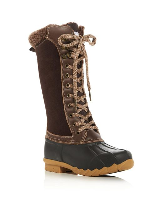 Sporto | Brown Dena Cold Weather Duck Boots | Lyst