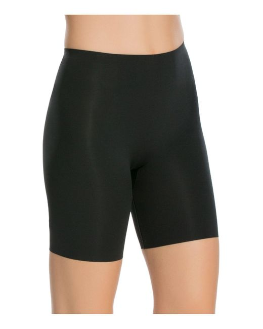 Spanx | Black Thinstincts Mid-thigh Shorts | Lyst