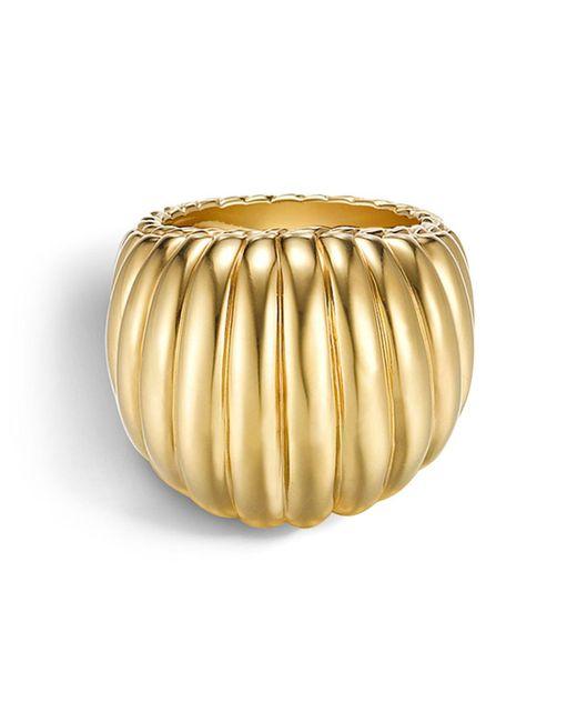 John Hardy | Metallic Bedeg 18k Gold Dome Ring | Lyst