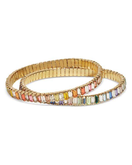 BaubleBar Metallic Spectrum Bracelets