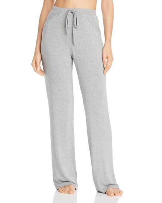 Cosabella - Gray Alessandra Soft Knit Lounge Pants - Lyst