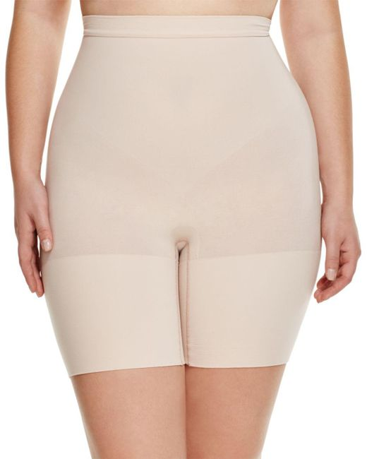 Spanx - Natural Plus Power Shorts - Lyst