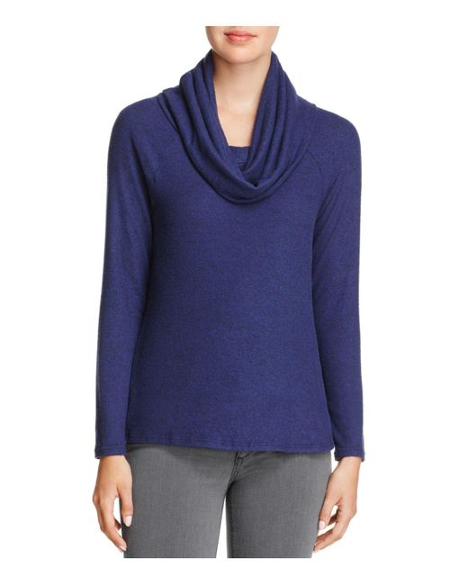 Soft Joie - Blue Cappella Cowl-neck Sweater - Lyst