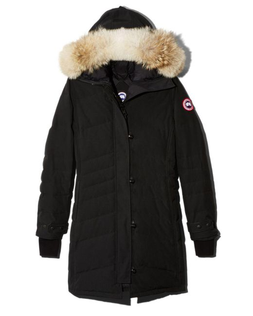 Canada Goose Black Lorette Quilted Down Parka Jacket