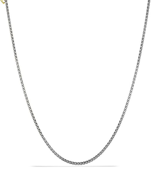 "David Yurman - Metallic 36"" - Lyst"