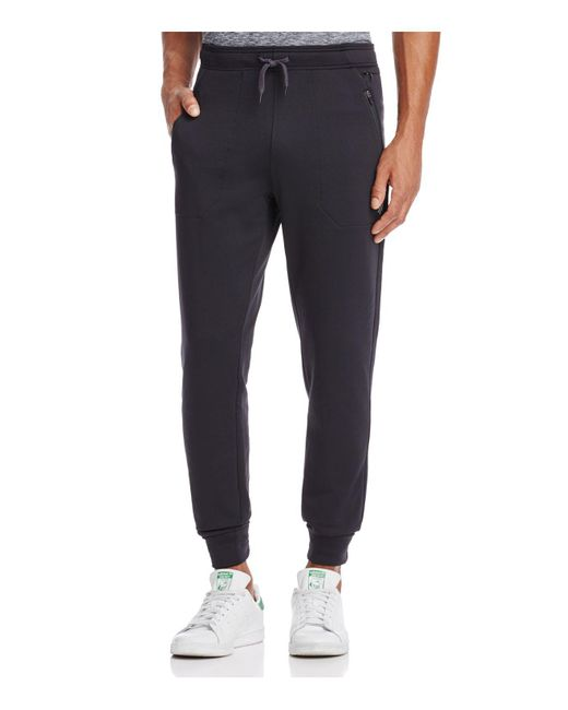 Rhone - Black Basecamp Jogger Sweatpants for Men - Lyst