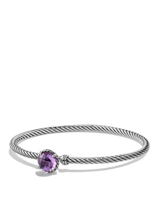 David Yurman - Metallic Châtelaine Bracelet With Amethyst - Lyst