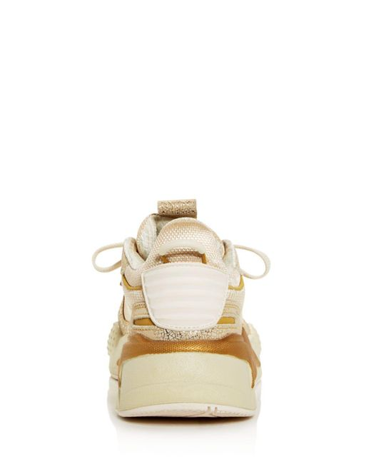 PUMA Leather Women's Rs X Winter Glimmer Low Top