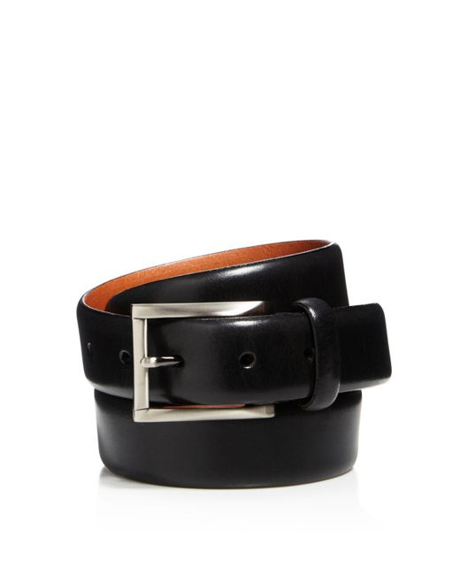 Trafalgar - Black Marco Leather Belt for Men - Lyst