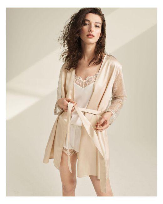 Flora Nikrooz White Showstopper Robe