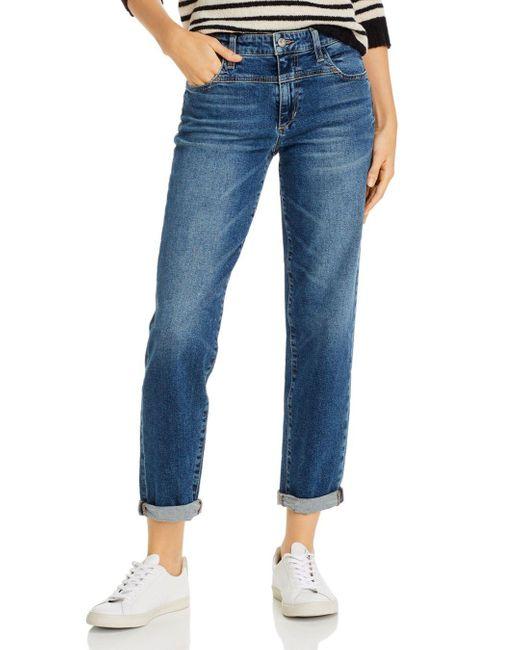 Joe's Jeans Blue The Niki Boyfriend Jeans In Vaquero