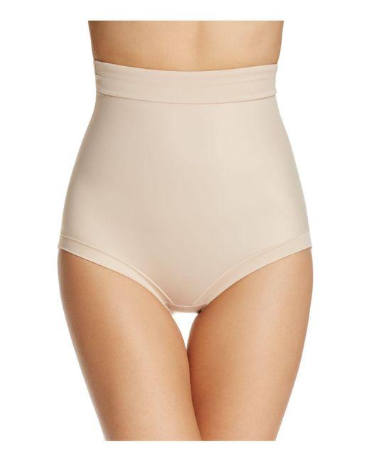 Tc Fine Intimates   Natural Firm Control Hi-waist Brief   Lyst