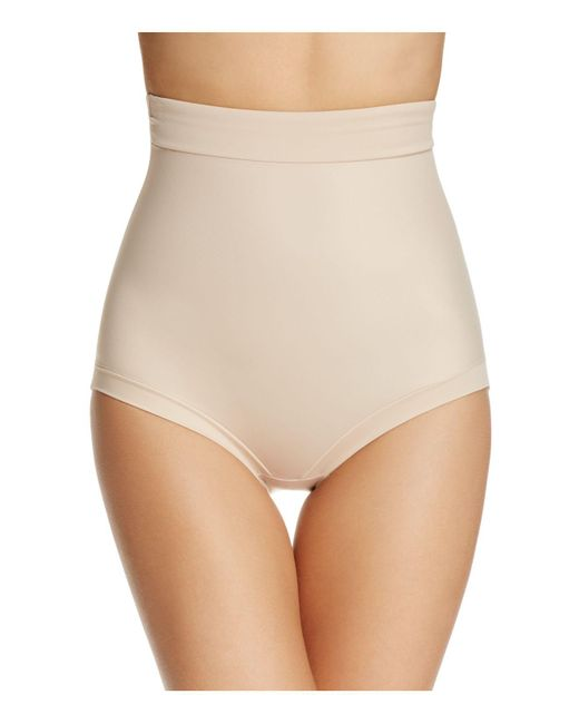 Tc Fine Intimates - Natural Firm Control Hi-waist Briefs - Lyst