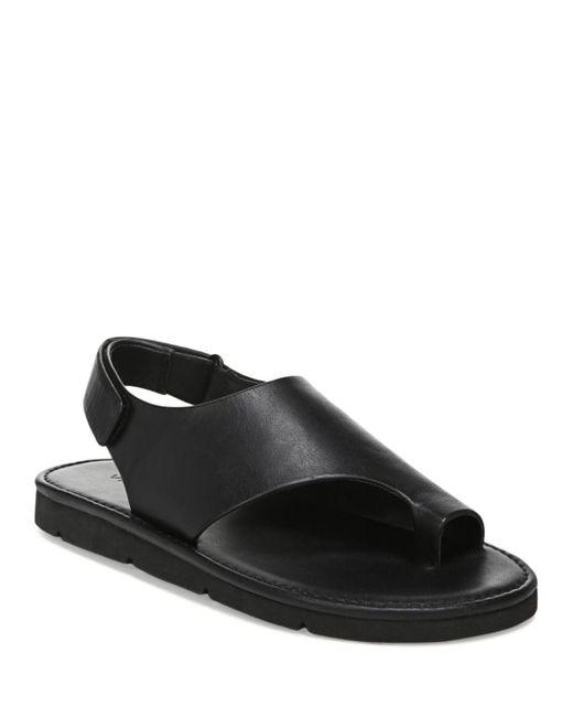 Vince Black Olsen Slingback Sandals