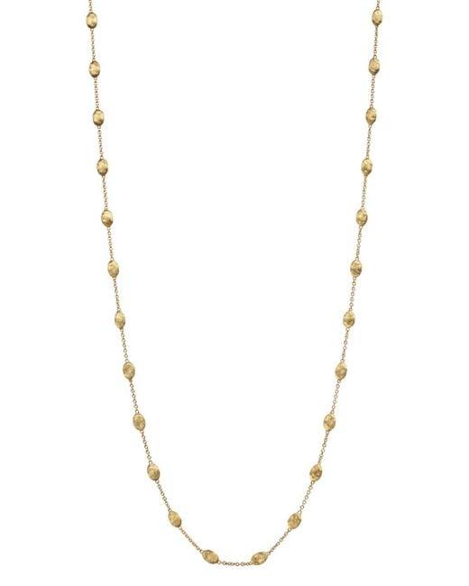 Marco Bicego - Metallic Siviglia Gold Bead Long Necklace - Lyst