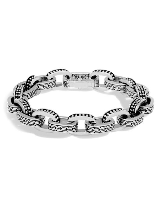 John Hardy - Metallic Men's Sterling Silver Classic Chain Jawan Link Bracelet for Men - Lyst