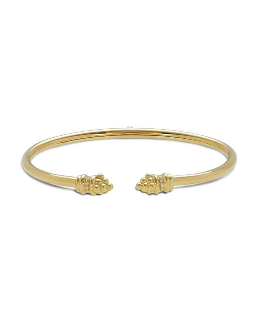 Temple St. Clair | Metallic 18k Gold Bellina Bracelet With Diamonds | Lyst