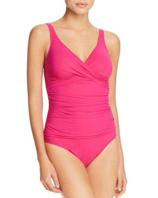 Gottex - Purple Tutti Frutti One Piece Swimsuit - Lyst