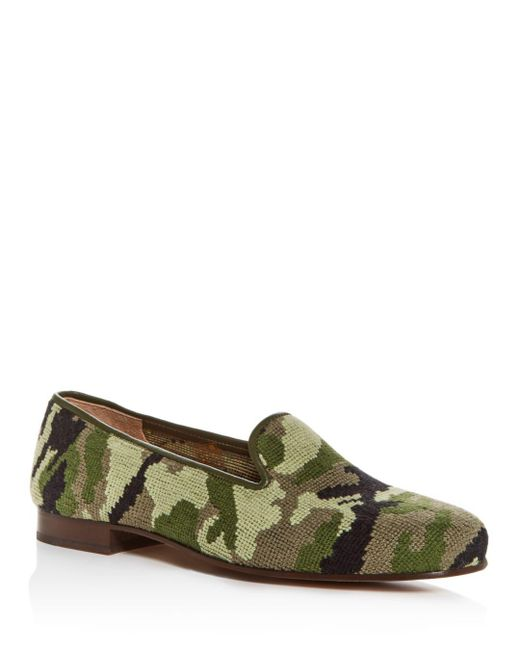 Stubbs & Wootton - Green Stubbs & Wooton + Todd Snyder Camo Slippers for Men - Lyst