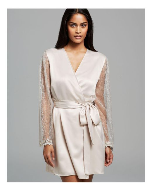 Flora Nikrooz | Metallic Showstopper Cover-up Robe | Lyst