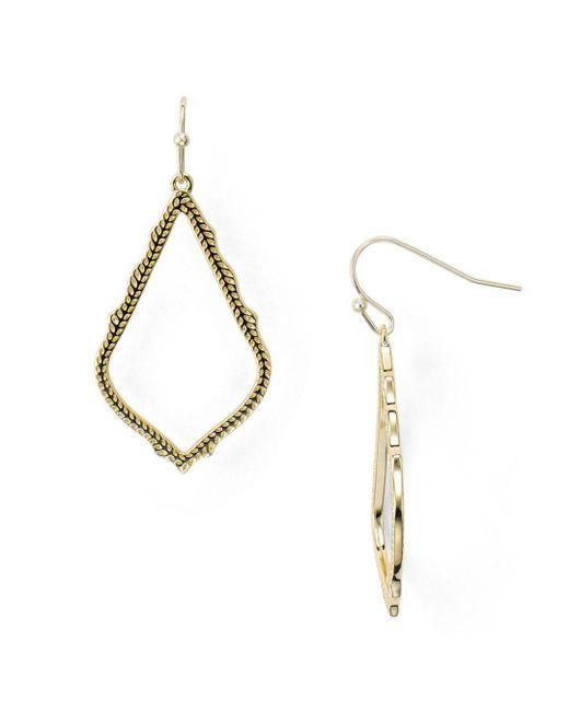 Kendra Scott - Metallic Sophia Drop Earrings - Lyst
