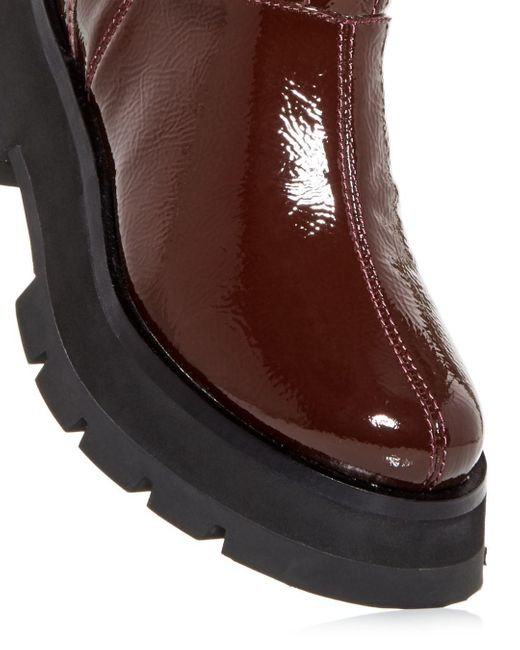 3.1 Phillip Lim Brown Women's Kate Platform Combat Boots