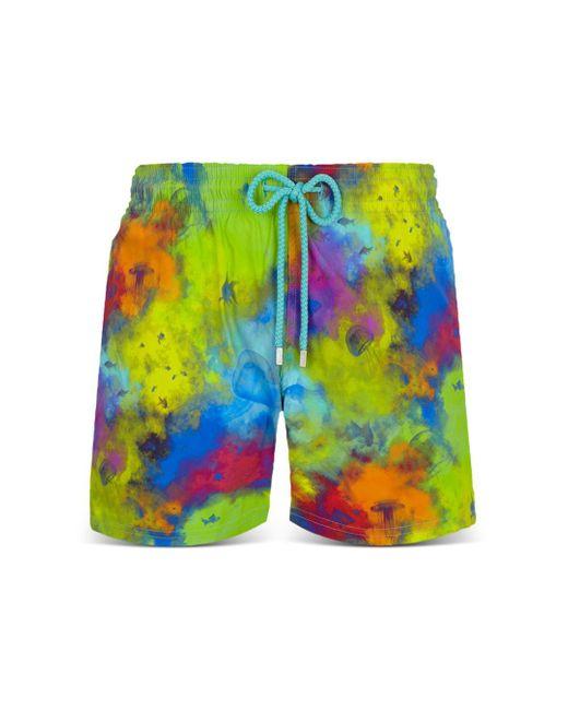 Vilebrequin Multicolor Stretch Holi Party Swim Trunks for men