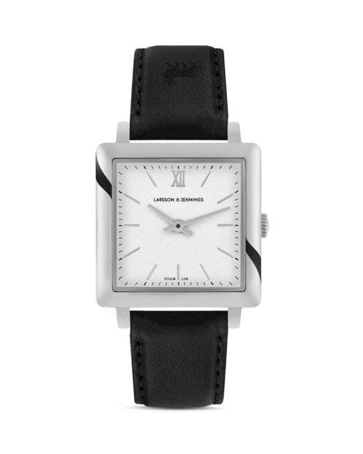 Larsson & Jennings Multicolor Ljxii Norse Leather Strap Watch