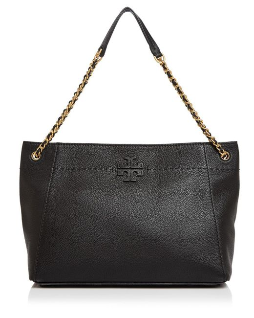 Tory Burch - Multicolor Mcgraw Leather Tote - Lyst