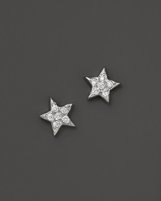 KC Designs | Diamond Star Studs In 14k White Gold, .15 Ct. T.w. - 100% Exclusive | Lyst