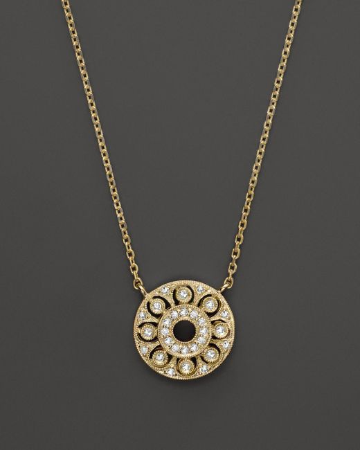 KC Designs   Diamond Pendant In 14k Yellow Gold, .15 Ct. T.w.   Lyst