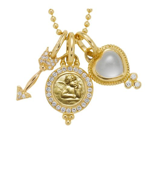 Temple St. Clair | Metallic 18k Yellow Gold Amor Gift Set | Lyst