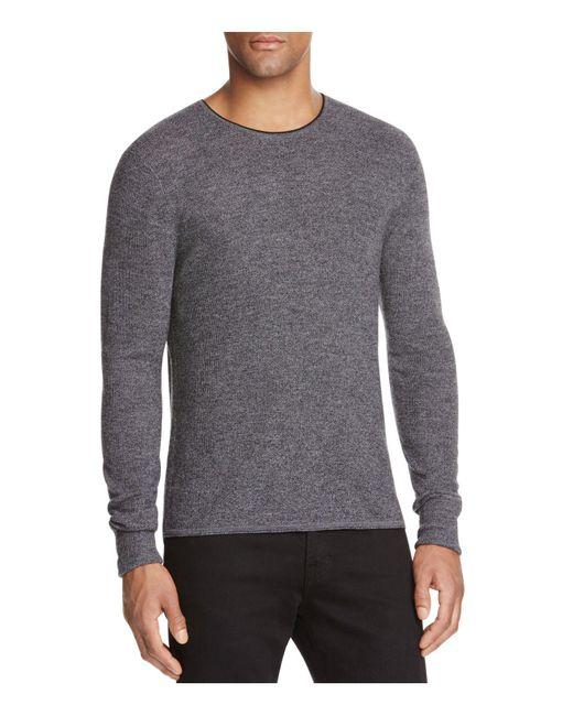Rag & Bone   Gray Giles Crewneck Wool Sweater for Men   Lyst