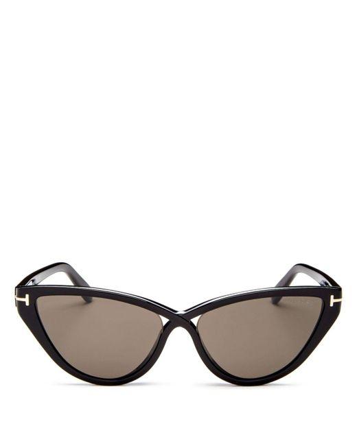 Tom Ford Multicolor Women's Charlie Cat Eye Sunglasses