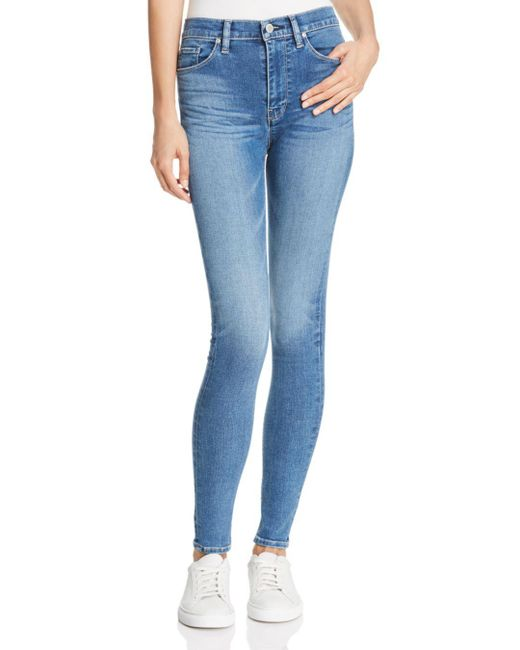 Hudson - Blue Barbara High Rise Skinny Jeans In Ayon - Lyst