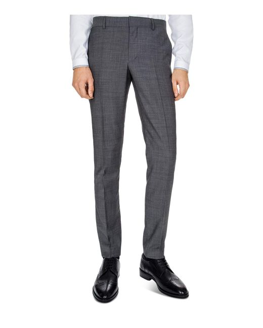The Kooples | Gray Sunrise Super 100s Slim Fit Trousers for Men | Lyst