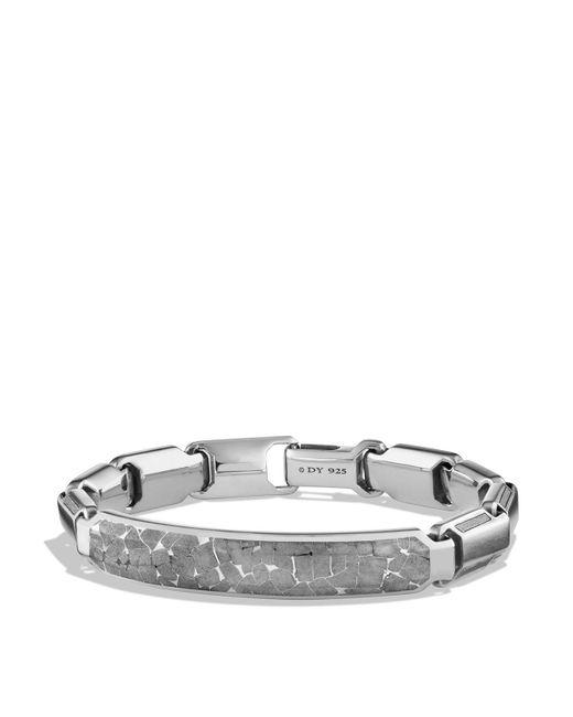 David Yurman - Metallic Fused Meteorite Id Bracelet - Lyst
